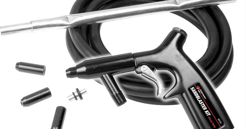 Sandblasting Parts: Choices in Sandblasting Nozzles - Open