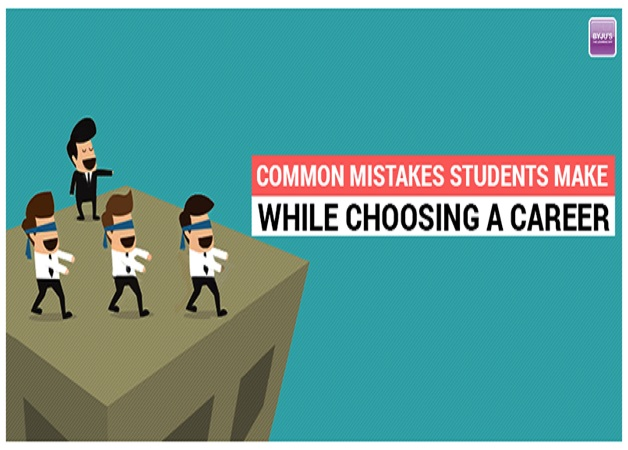 common mistakes students make while choosing a career