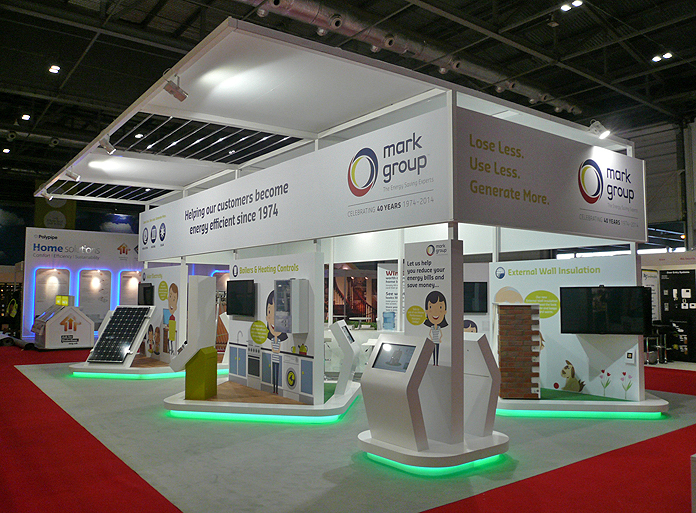 Large Exhibition Stall : Promoting products through exhibitions stands open